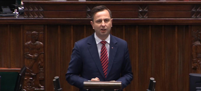 Władysław Kosiniak-Kamysz: Debata nad wotum zaufania dla Rządu (VIDEO)
