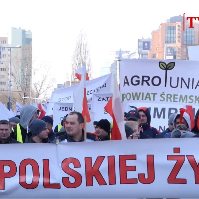 tvPolska: Protest AgroUnii. Czy rolnicy uratują Polskie rolnictwo? (VIDEO)