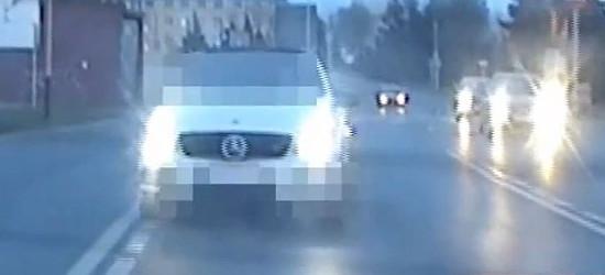 RZESZÓW. Policyjna eskorta do szpitala. Kobieta z dusznościami (VIDEO)