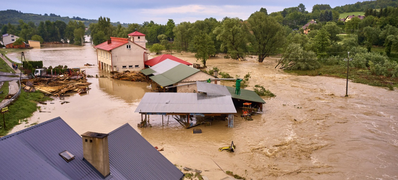 Ogromne zniszczenia pod Jasłem. Potrzebna żywność i odzież (WIDEO, ZDJĘCIA)