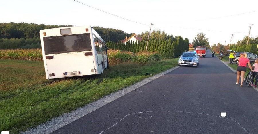 PODKARPACIE: Autobus potrącił 5-latkę. Dziewczynka jechała na hulajnodze (ZDJĘCIE)