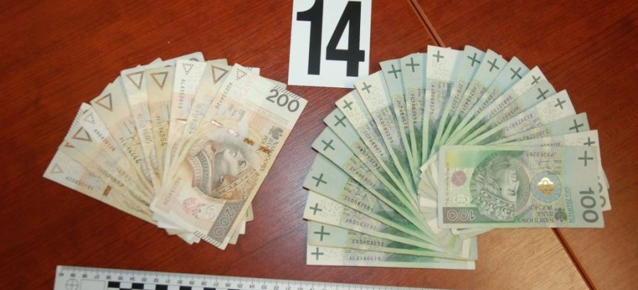 Podrabiał banknoty o nominale 100 i 200 zł. Grozi mu do 25 lat więzienia (ZDJĘCIA)