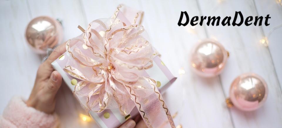 VOUCHER PREZENTOWY DermaDent idealny świąteczny prezent dla Twoich bliskich