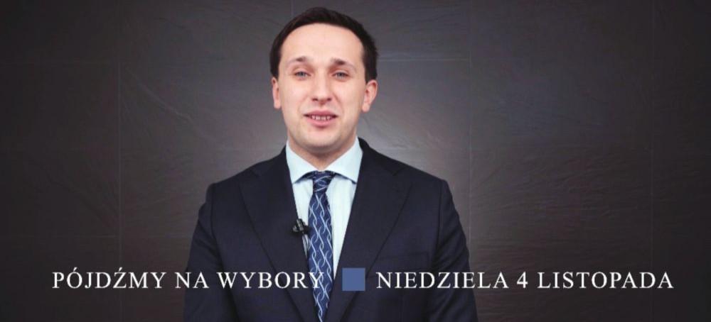 Szymon Stapiński zaprasza na wybory: Żeby nastąpił ROZWÓJ potrzebna jest ZMIANA (VIDEO)
