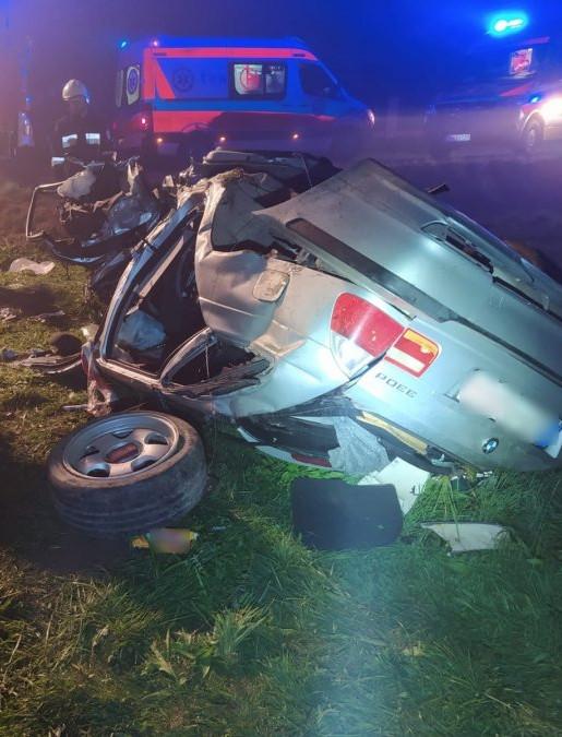 Tragiczny wypadek w Dydni. Nie żyje 19-letni chłopak (ZDJĘCIA)