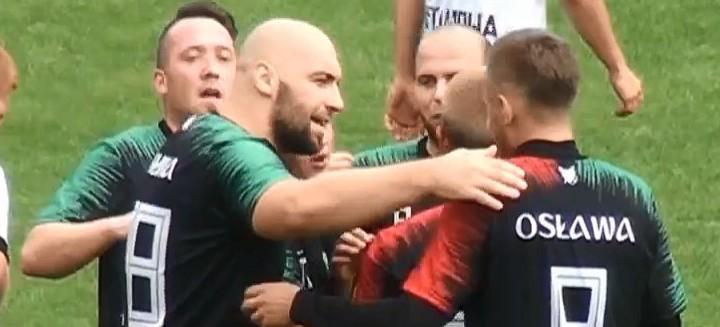 Osława Zagórz nie zwalnia. Hat-trick Łukasza Wróbla (VIDEO)