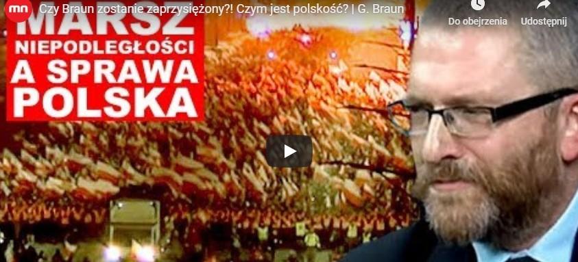 Czy Grzegorz Braun zostanie zaprzysiężony?! Czym jest polskość? Marsz Niepodległości (VIDEO)