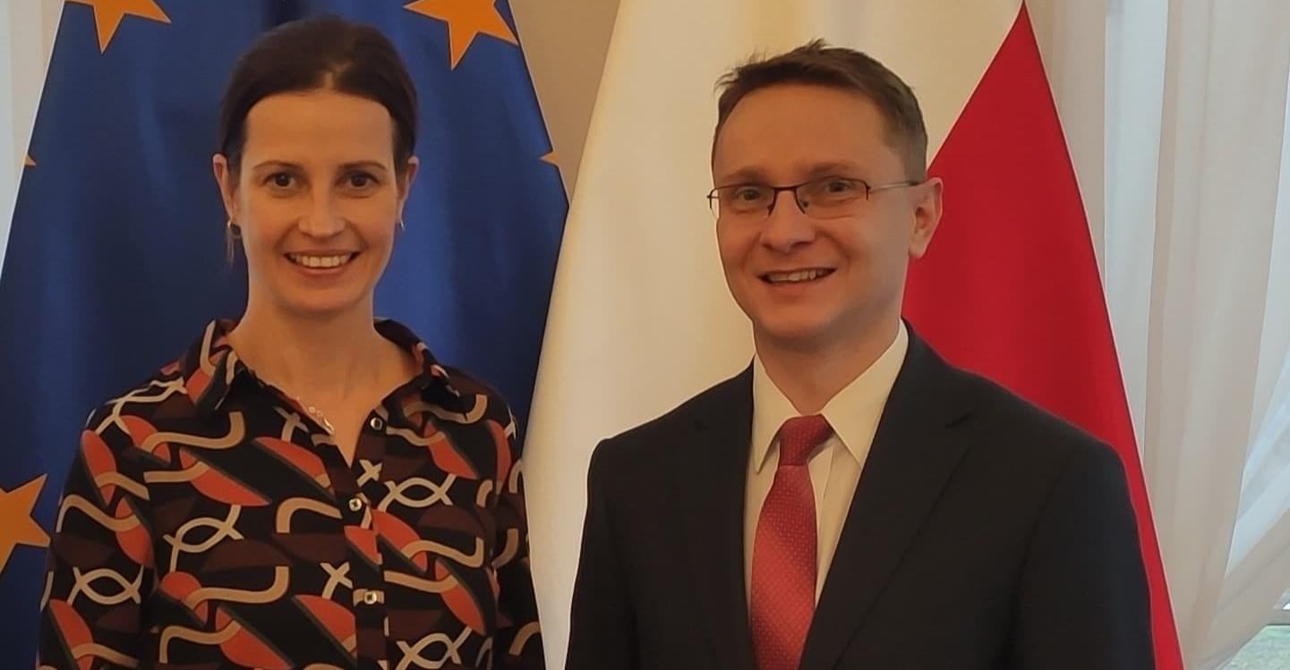 Spotkanie z Minister Sportu: O ważnych inwestycjach dla regionu
