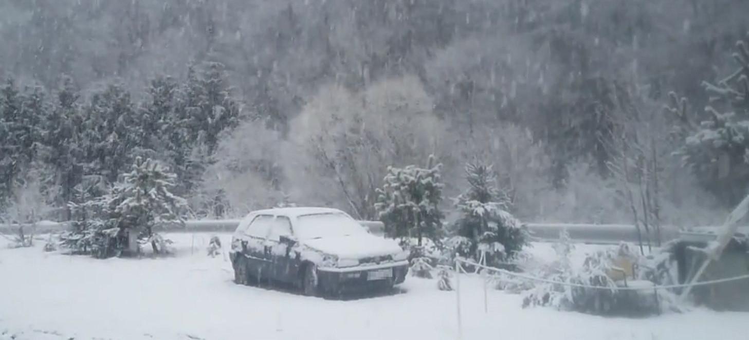 W Bieszczadach biało! Zima nie powiedziała jeszcze ostatniego słowa (VIDEO, ZDJĘCIA)