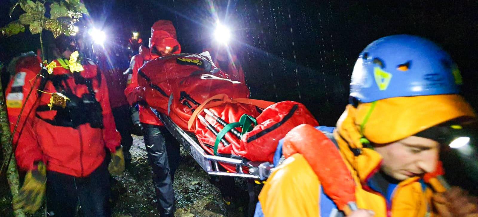 Trudna akcja ratunkowa w Bieszczadach. Turysta w stanie hipotermii (ZDJĘCIA)