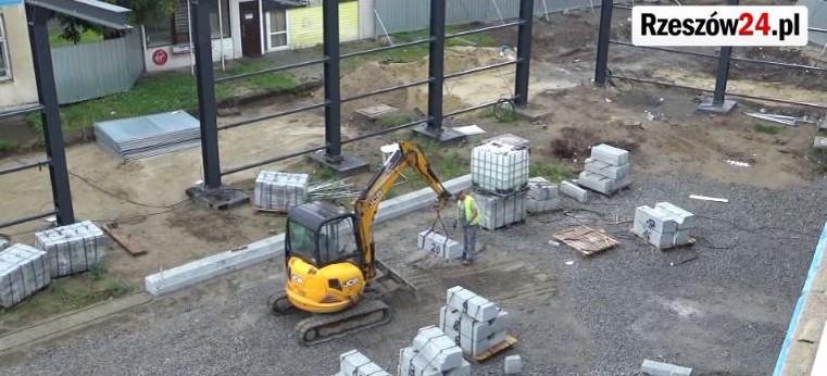 Przebudowa dworca lokalnego w Rzeszowie (FILM)