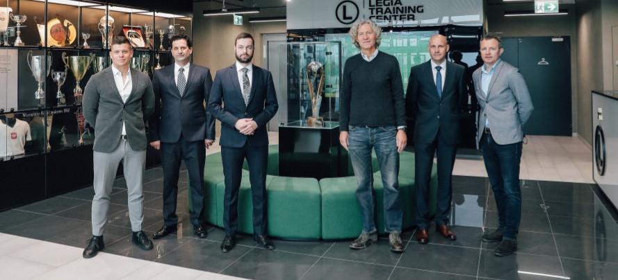 Ustrzyckie szkoły sportowe zostały szkołami partnerskimi Legii Warszawa!