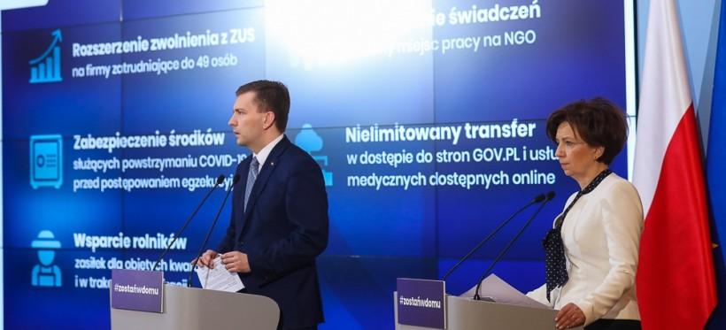 POLSKA. Rząd rozszerza tarczę antykryzysową