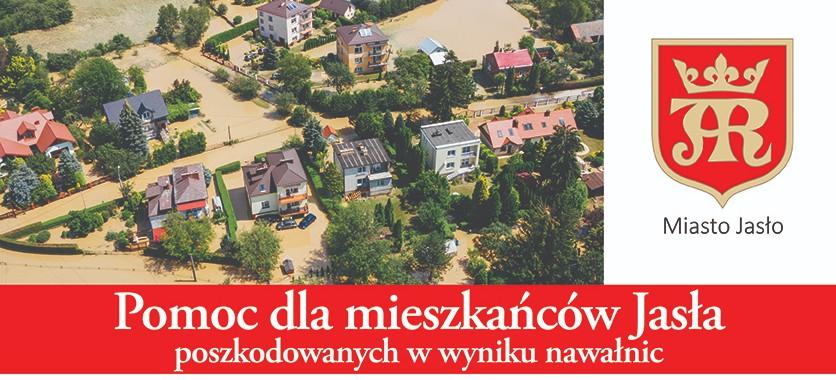Kwesta na rzecz poszkodowanych mieszkańców Jasła