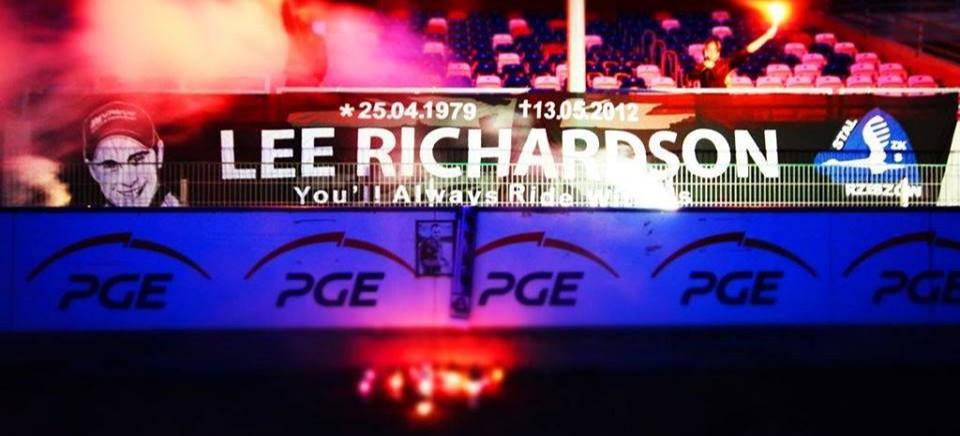 Mija 7 lat od śmierci Lee Richardsona. Kibice upamiętnią żużlowca Stali Rzeszów