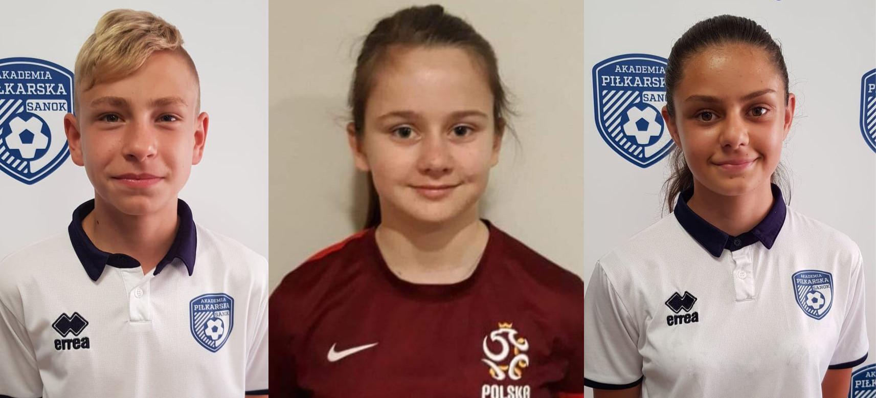 Akademia Piłkarska WIKI Sanok wyszkoliła już troje reprezentantów Polski!