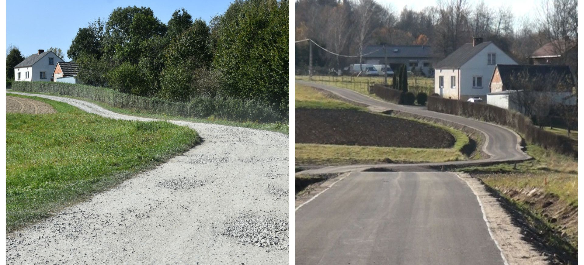 Remonty i przebudowy dróg w gminie Brzozów (VIDEO, FOTO)