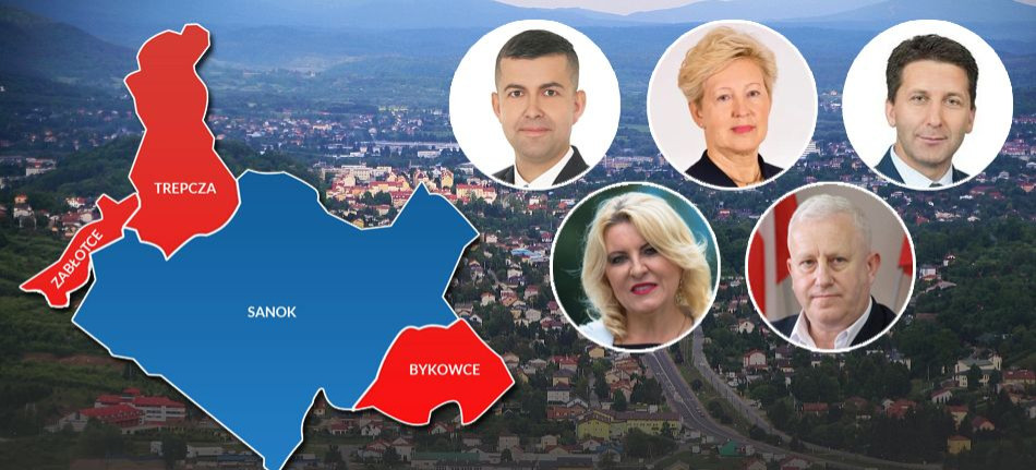 Związek Bieszczadzkich Gmin Pogranicza negatywnie o  zmianie granic Sanoka, ale decyzja już zapadła
