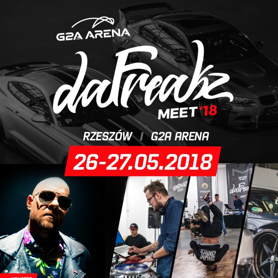 DaFreakz Meet'18 – auta, tuning, muzyka, taniec i niepowtarzalna atmosfera już 26 i 27 maja w G2A Arena!