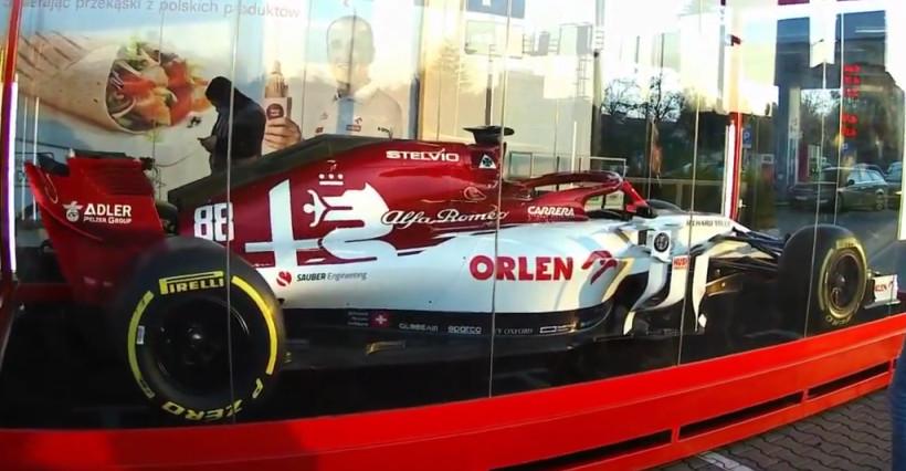 W Rzeszowie można zobaczyć bolid F1 Roberta Kubicy!