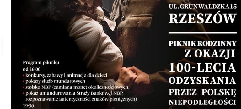 """Piknik rodzinny """"My Polacy 1918-2018"""" w Rzeszowie"""