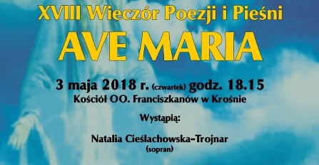 """KROSNO: Wieczór Poezji i Pieśni """"Ave Maria"""" (PROGRAM)"""