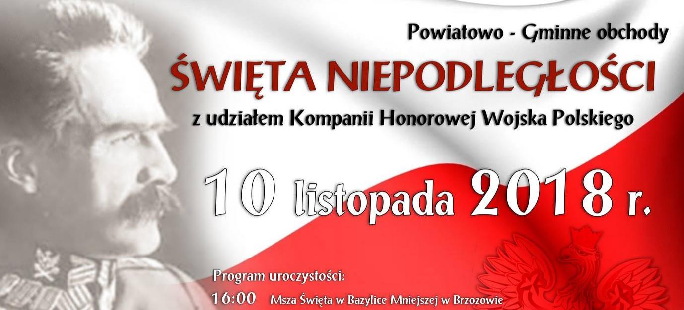 Powiatowo-gminne obchody 11 listopada. Sprawdź program
