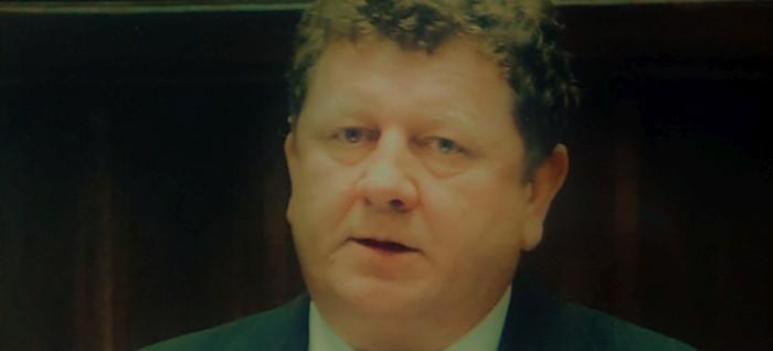 """Dedykacja """"Demokratom Ziemi Sanockiej"""" od posła na Sejm RP IV kadencji Mariana Kawy"""