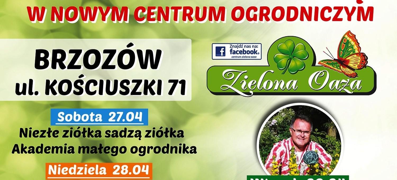 ZIELONA OAZA: Powitaj Majówkę w nowym centrum ogrodniczym!