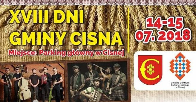 Muzycznie w Cisnej! W najbliższy weekend dni gminy (PROGRAM)