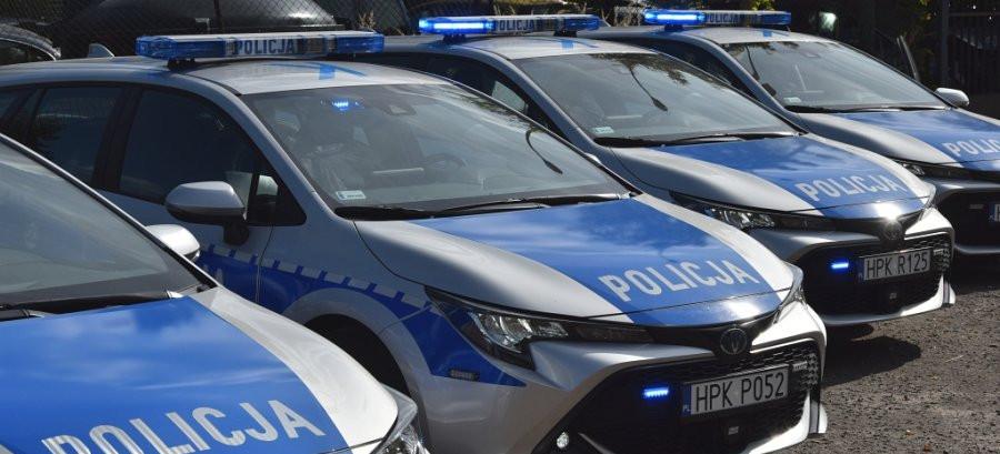 Nowe radiowozy dla podkarpackiej policji