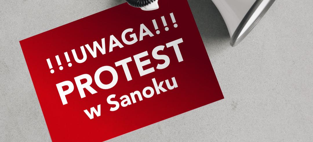 Wielki protest sołectw przeciwko przyłączeniu do miasta. Dzisiaj blokada ronda im. Beksińskiego!