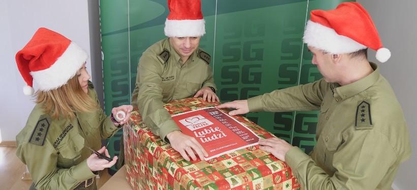 Mikołajkowa akcja Straży Granicznej z Podkarpacia! Wzięli udział w Szlachetnej Paczce (FOTO, WIDEO)