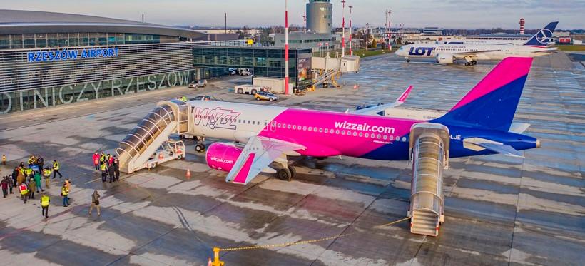 Wizz air uruchomi połączenia z Jasionki do Oslo i Londynu!