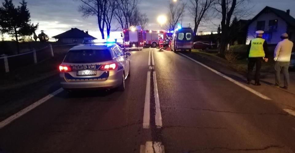 Tragedia w Besku. Potrącona 77-latka zmarła (FOTO, VIDEO)