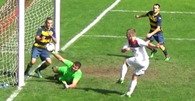 ZAGÓRZ: Nelson szybko zaatakował. Błąd bramkarza pozwolił uratować punkt (SKRÓT, VIDEO)