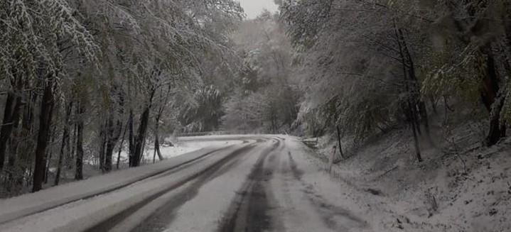 W Bieszczadach sypnęło śniegiem! (ZDJĘCIA)