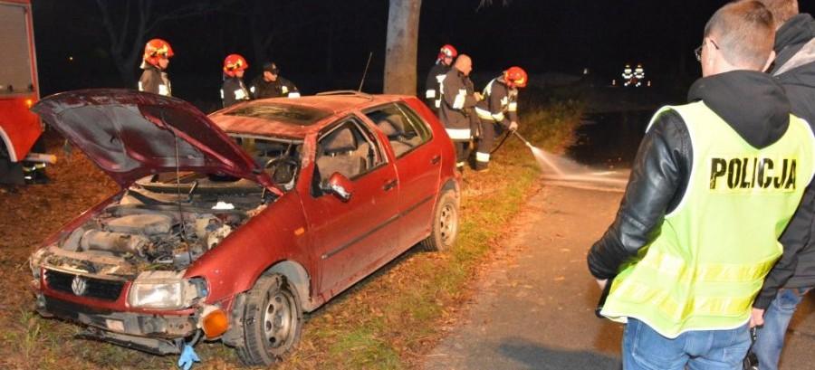 Tragiczny wypadek w Morawsku, 1 osoba nie żyje (FOTO)
