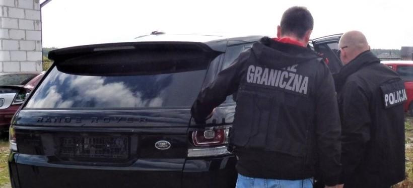 Rzeszowscy policjanci pomogli w zatrzymaniu skradzionych za granicą aut