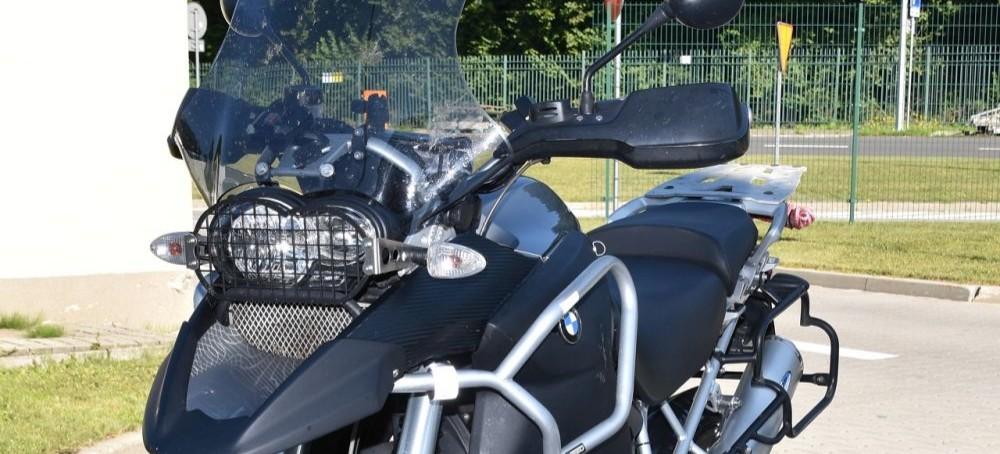 Skradzionym we Francji motocyklem chciał wjechać na Ukrainę