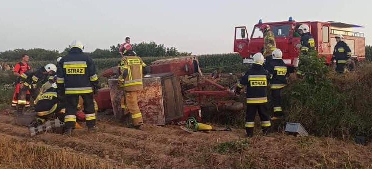 PODKARPACIE. Traktor przygniótł nietrzeźwego 47-latka (FOTO)