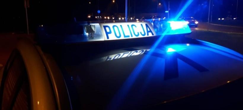 ŁAŃCUT. Policyjna eskorta samochodu. Pasażer miał objawy udaru!
