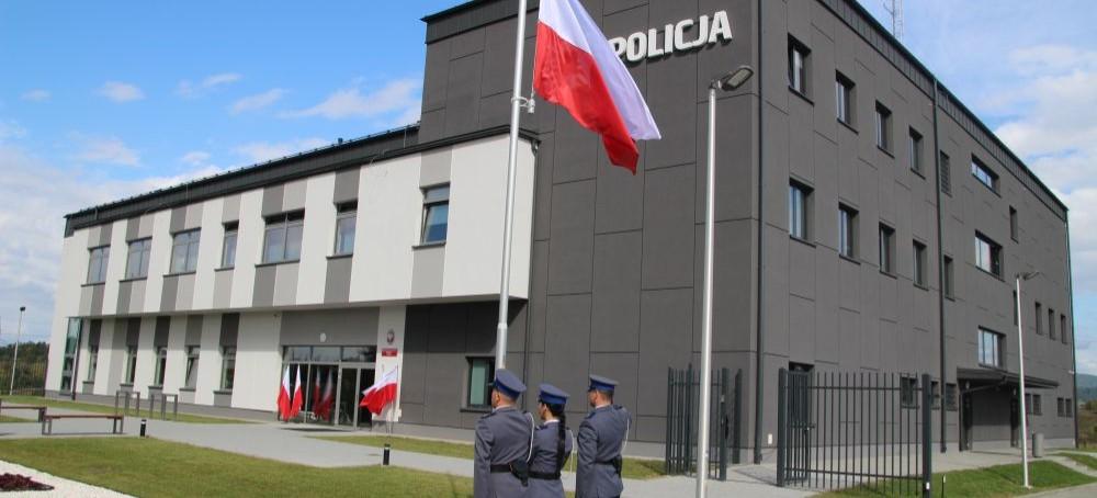 LESKO: Otwarto jedną z najnowocześniejszych komend policji w kraju (VIDEO, ZDJĘCIA)