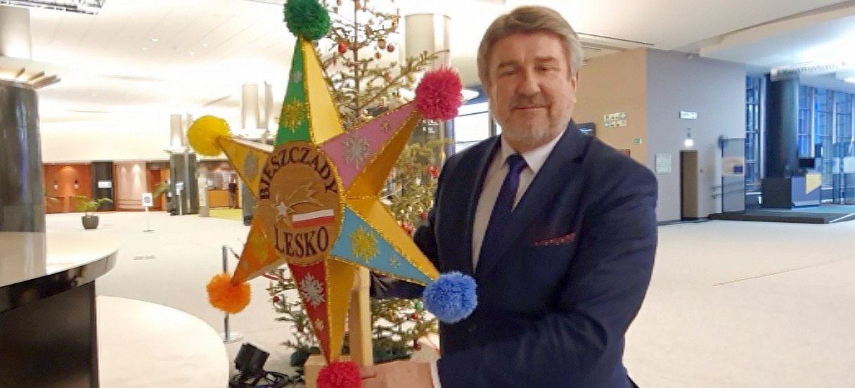 Życzenia na Boże Narodzenie od europosła Bogdana Rzońcy (VIDEO)