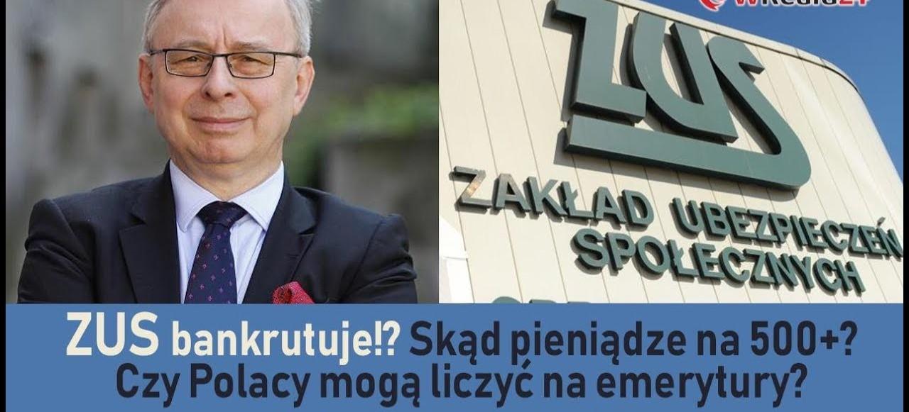 ZUS bankrutuje!? Skąd pieniądze na 500+? Czy Polacy mogą liczyć na emerytury?