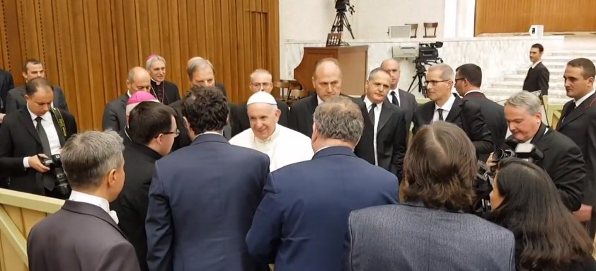 Delegacja z Podkarpacia na audiencji u Papieża Franciszka (WIDEO)