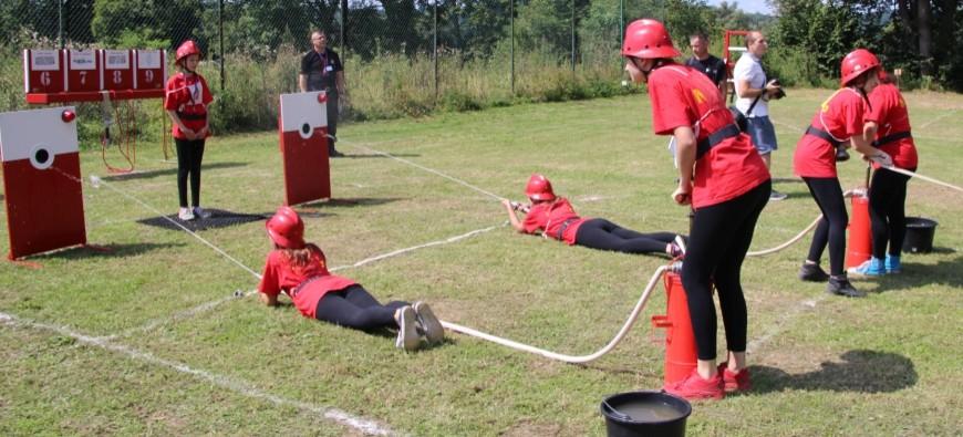 DNI GMINY DYDNIA: Zawody strażackie na nowym sprzęcie (VIDEO)
