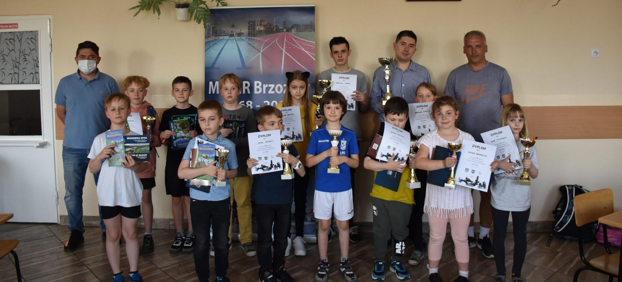 Turniej Szachowy o Puchar Burmistrza Brzozowa