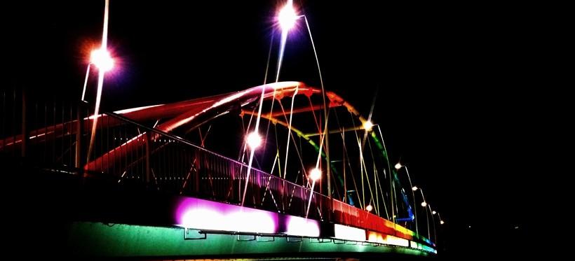 #fotoRzeszów24: Bajkowy rzeszowski most (FOTO)
