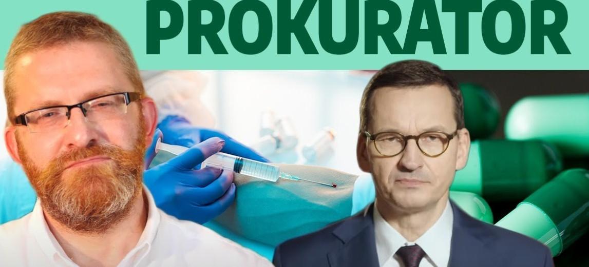 PILNE! Poseł Grzegorz Braun DONOSI na Morawieckiego!